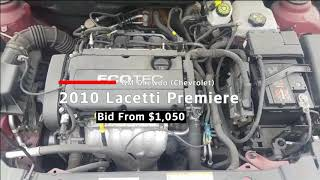 [Salvage Car Review] 2010 GM Daewoo (Chevrolet) Lacetti Premiere