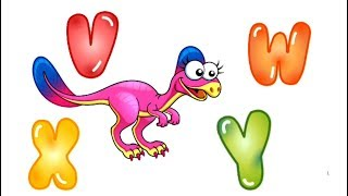 Alphabet Puzzle Dinosaur ABC -  A to Z Educational Game for Kids learning app