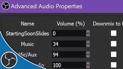 OBS Studio 113 - How to stop audio looping, audio echoes in OBS - Don't kill your viewers' ears!