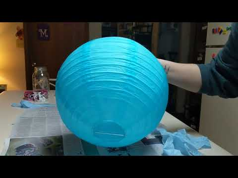 Jellyfish Paper Lanterns - Part 1