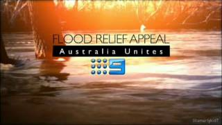 Nine's Flood Relief Appeal: Australia Unites (Queensland Floods 2011) INTRO - Channel Nine 2011