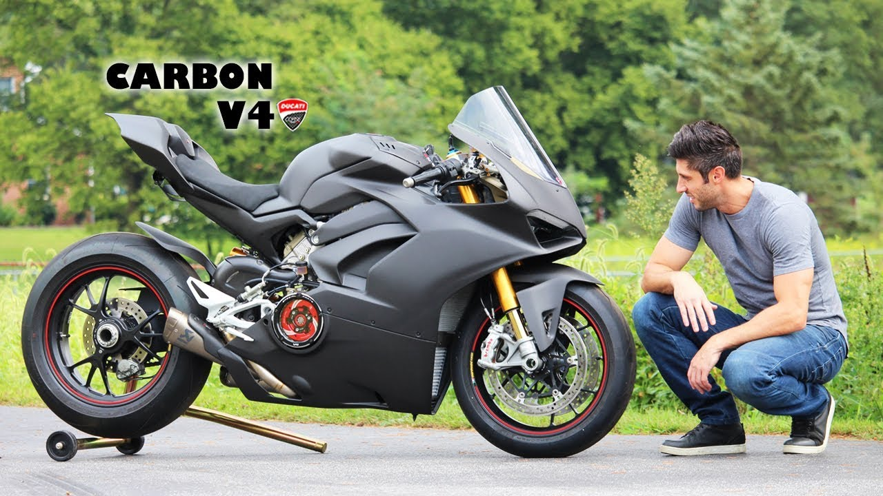 Full Carbon V4 Panigale Youtube