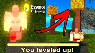 How to climb fast levels in Booga Booga Essences Roblox in Spanish