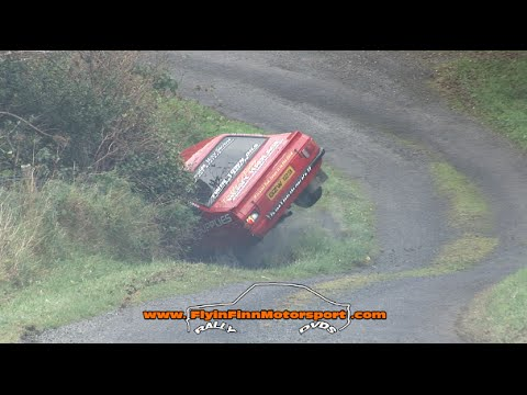 Pushing It On 2014 (Flyin Finn Motorsport) Best Irish Rally Crash & Action