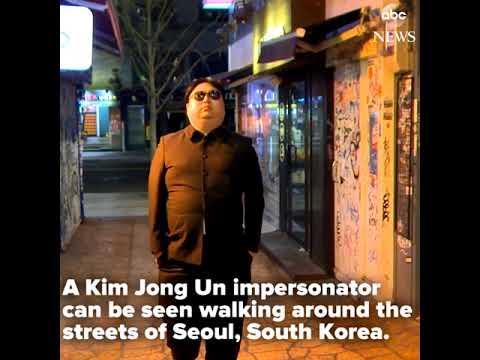 Kim Jong Un Impersonator | ABC News
