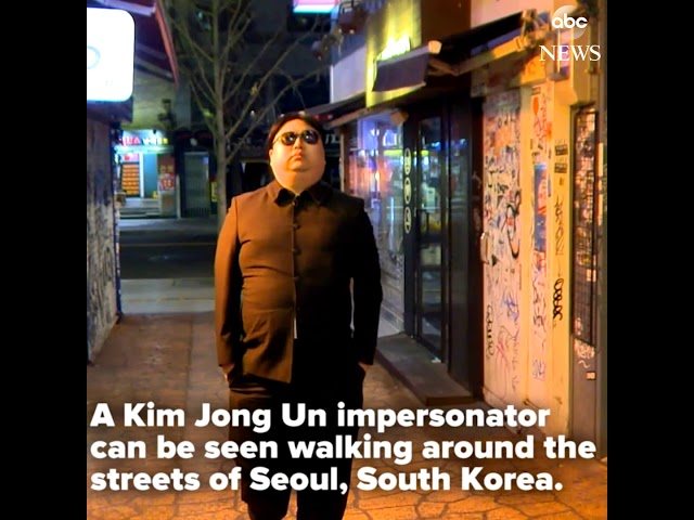 Kim Jong Un Impersonator | ABC News