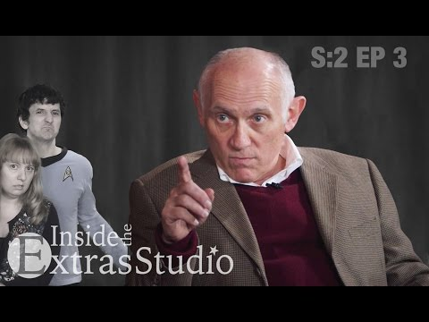 Trekkie Cult Leader Armin Shimerman  Inside the Extras Studio