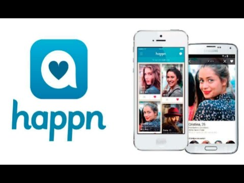 how does happn dating app work