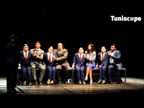 TUNISCOPE.com : Avant première de MACBETH, Leila And Ben الدم يجبد