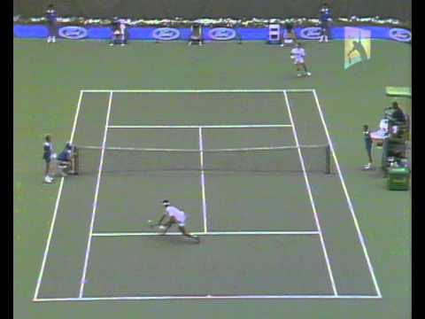 Cash v Lendl: 1988 Australian Open Men's Semi Final Highlights