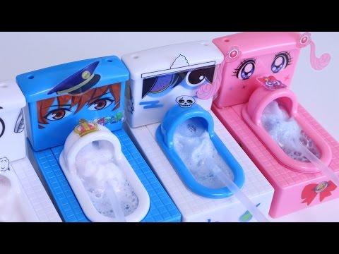 "DIY Weird Toilet Candy ""Mokomoko Mokolt WAO!"" Japanese style version"