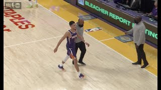Devin Booker Gets Ejected During Suns-Lakers Game