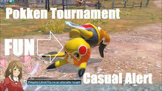 Video SECONDARY CHARACTER IS SUPER FUN Pokken Tournament Casual Alert #1 download MP3, 3GP, MP4, WEBM, AVI, FLV September 2018
