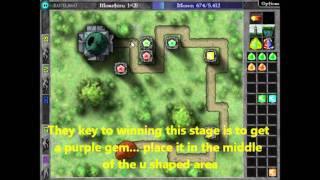 Repeat youtube video Gemcraft (Original) First Epic Boss Guide/Walkthrough