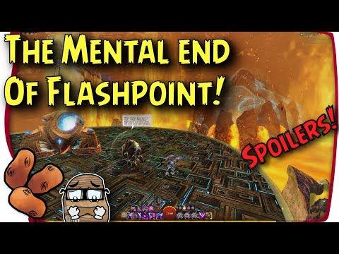Guild Wars 2 - Flashpoint Lore Final | Primordus Versus Balthazar & The Volcano Core