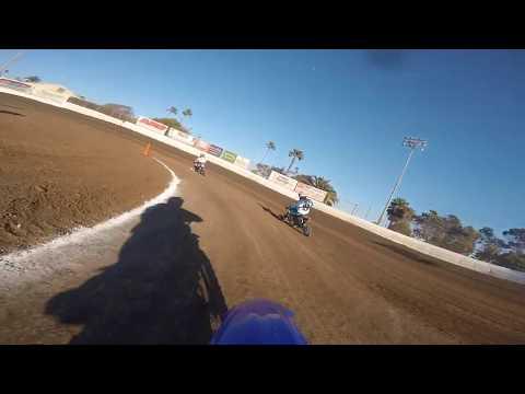 Ventura Raceway Flat Track 125cc Heat #1 TTR125