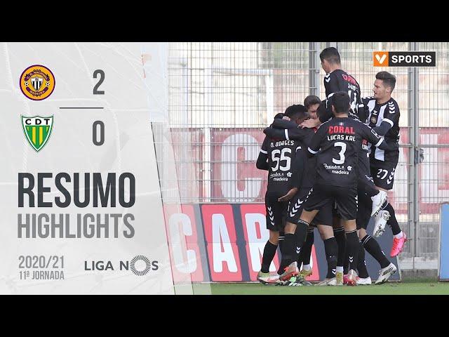 Highlights | Resumo: CD Nacional 2-0 Tondela (Liga 20/21 #11)