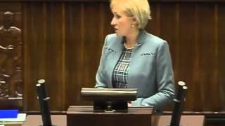 [95/465] Urszula Pasławska: Szanowny Panie Marszałku! Szanowna Pani Poseł! Szanowny Panie Poś...
