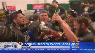 Dodgers Home After Winning National League Pennant