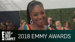 Tiffany Haddish Plans to Keep 2018 Emmys Award in Her Bed | E! Red Carpet & Live Events