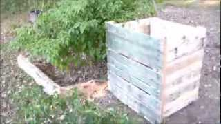 Potato Bin Out Of Wood Pallets