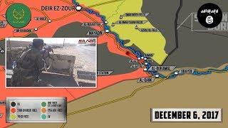 6 декабря 2017. Военная обстановка в Сирии. США отказываются уходить из Сирии после разгрома ИГИЛ.