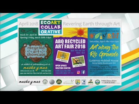 EcoArt Collective Hosts 'Recycled Arts Fair'