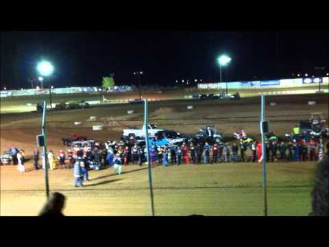 2011 Western World Championships.  Final Night.  Driver Introductions