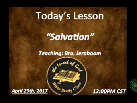 "IOG Mpls Lesson - ""Salvation"""