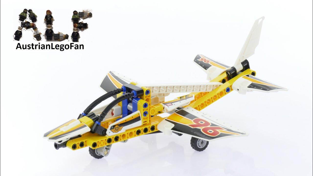 lego technic 42044 display team jet lego speed build. Black Bedroom Furniture Sets. Home Design Ideas