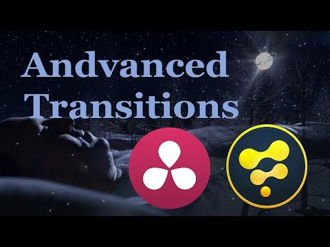 Davinci Resolve 14 to Fusion 9 - Advanced Transition Effects