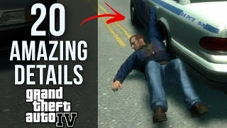 20 AMAZING Details in GTA IV