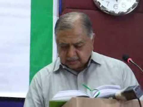 Detail speech of Dr  Kamal Hossain