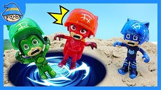 PJ Masks has been upgraded ~ Let's go on a time travel in space ship suit.
