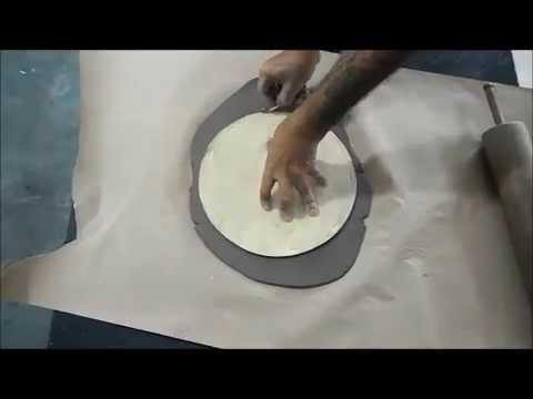 Cer mica artesanal utilit ria youtube for Tecnicas para esmaltar ceramica