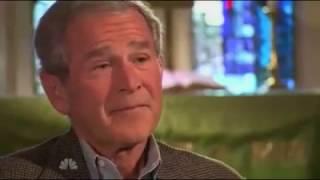 george w  bush interviewed by matt lauer NBC NEWS