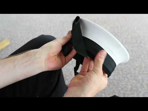 How to tie your cap tally