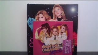 Unboxing Orange Caramel 1st Korean Album Lipstick Taiwan Special & Deluxe Version (Edition A & B)