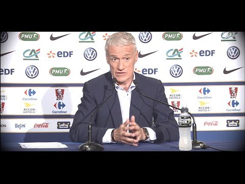 DIDIER DESCHAMPS SE CLASH AVEC UN JOURNALISTE QUI CRITIQUE SA LISTE