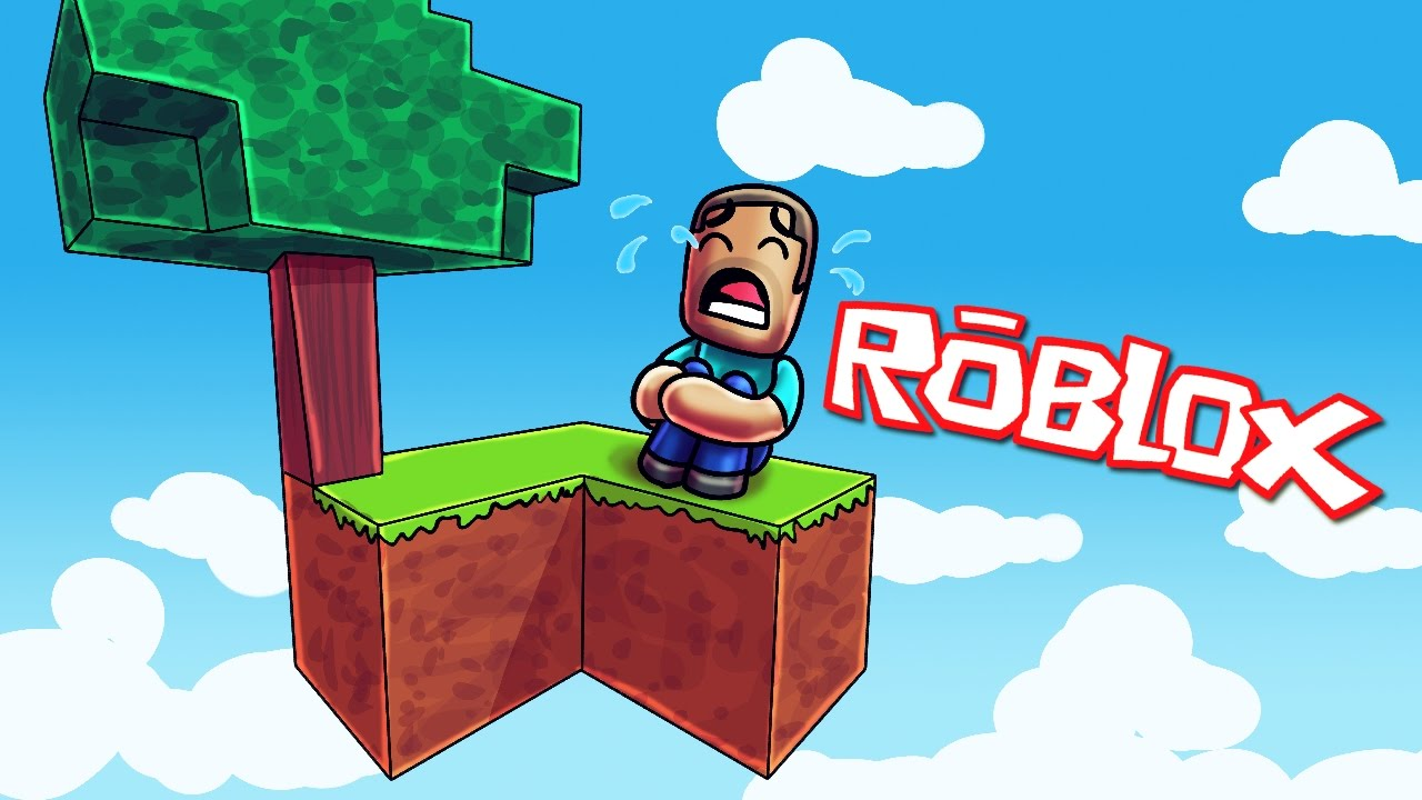Game Com Free Roblox All Alone In My Base Skyblock In Roblox