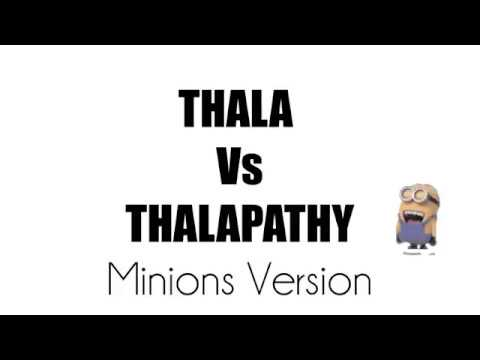 Convert & download thala thalapathy anthem tamil music video.