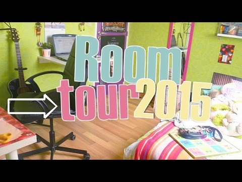 decoration room tour d corer sa chambre fa on diy youtube. Black Bedroom Furniture Sets. Home Design Ideas