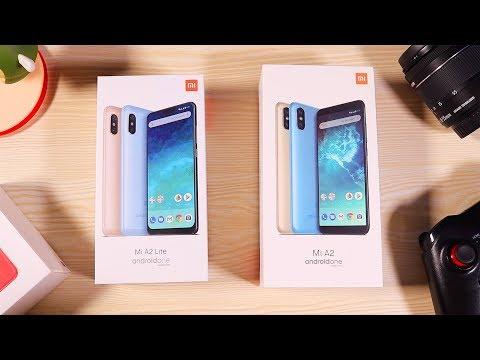 Xiaomi Mi A2 and Mi A2 Lite Unboxing with Pubg and Camera Comparison