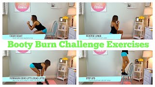 How To | Booty Burn Exercises