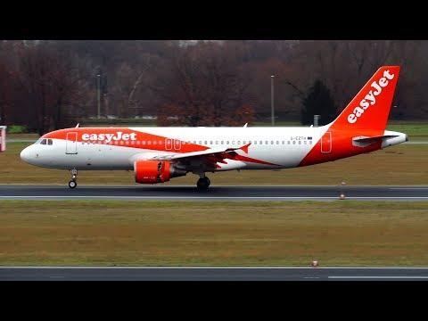 EASYJET A320 FIRST SCHEDULED LANDING at Berlin Tegel Airport TXL | G-EZTH
