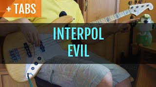 Baixar INTERPOL - EVIL (Bass Cover with TABS!)