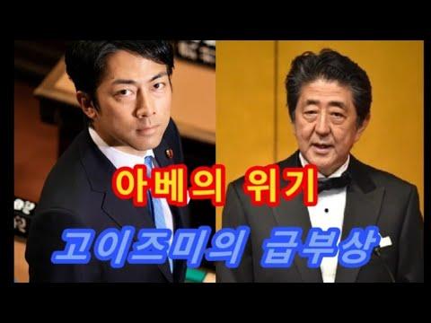 아베의 위기, 고이즈미의 급부상