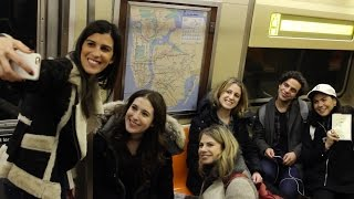 Kindness Boomerang Hits the Rails in NYC!