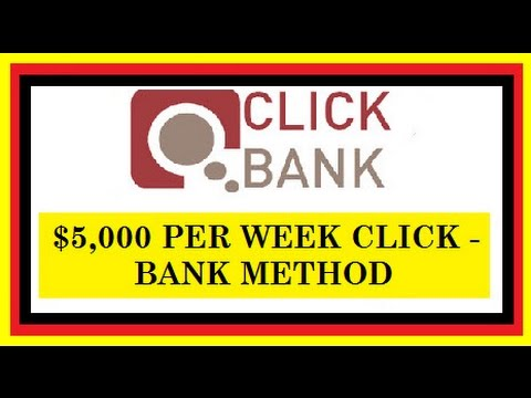 How To Make $5,000 Per Week With Clickbank Without A ...