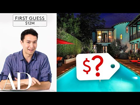 Amateurs & Experts Guess How Much an LA Mansion On Sunset Blvd Costs | Architectural Digest